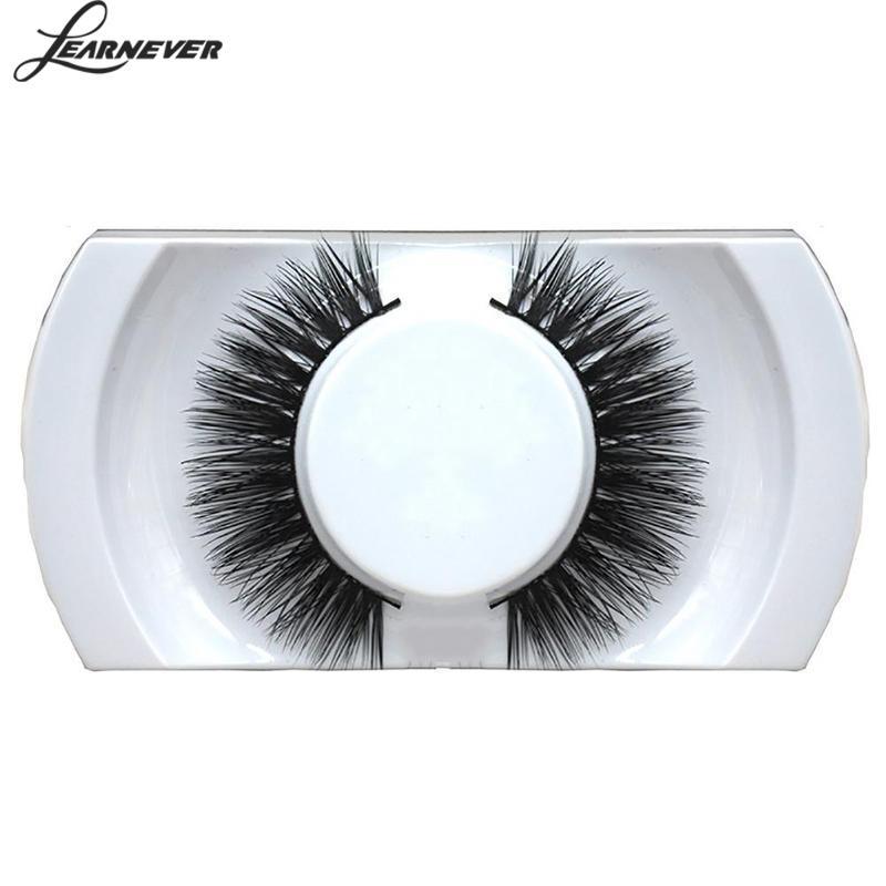 1pair Fake Eyelashes Extension Wispy Black Cross Natural Long Thick False Eyelashes Soft Hair Makeup Eye Lash