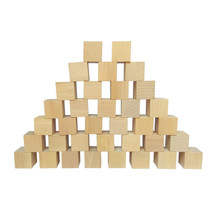 100pcs 8mm 10mm 15mm D6 Sided Blank Wood Dice With Right angle For Party Family DIY Puzzle Games Printing Engraving Kid Toys
