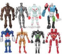 Chaud! Nouveau 8 pièces/ensemble 13cm en acier véritable PVC Action figurine Collection modèle jouets jouets classiques cadeau de noël jouet