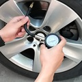 Mecánica de precisión de Largo Tubo de Motocicleta de La Bici del Neumático de Coche Manómetro Indicador de Presión de Aire 0-100 PSI Medidor Con Sangrado función