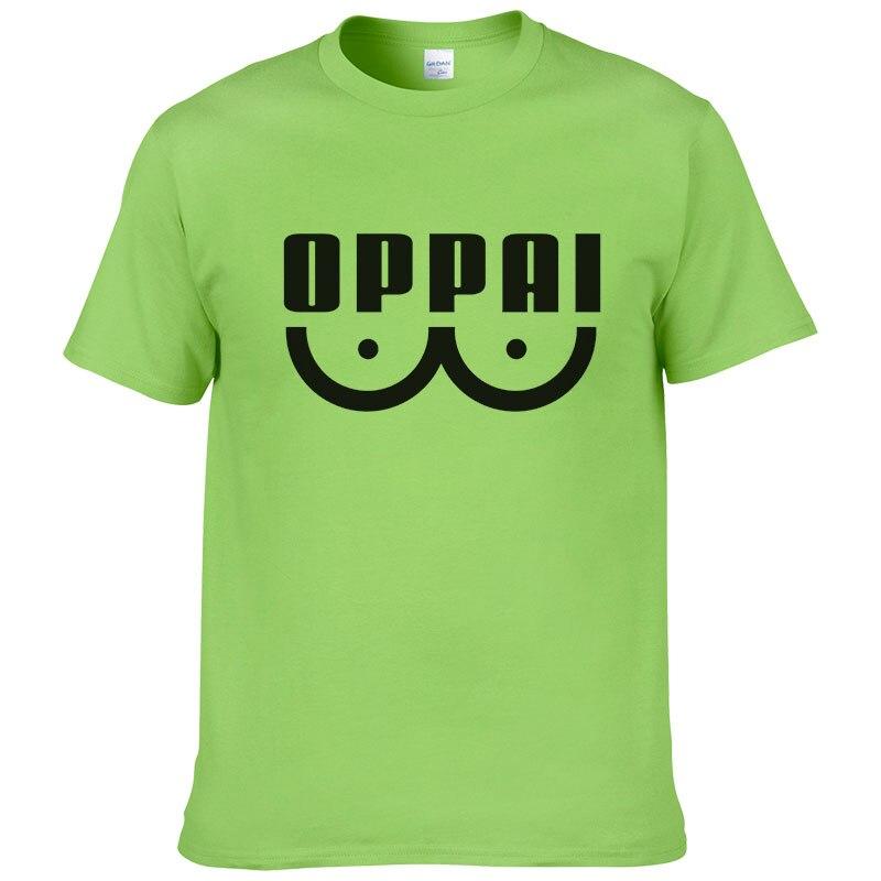 Mint Green One Punch Man Oppai Shirt