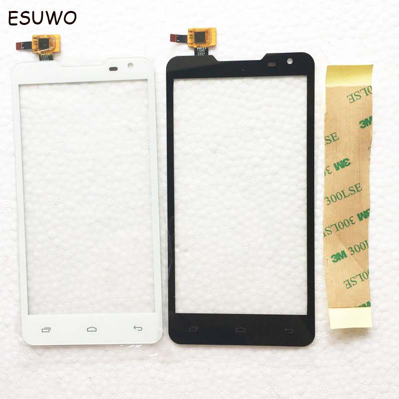 ESUWO Touch Screen For Prestigio MultiPhone PAP5044 Duo PAP 5044 Touchscreen Digitizer Front Glass Fast Tracking Shipping