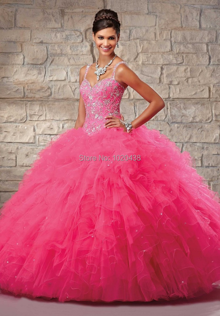free shipping Cheap evening party Gowns Ball Gown Puffy Corset ...