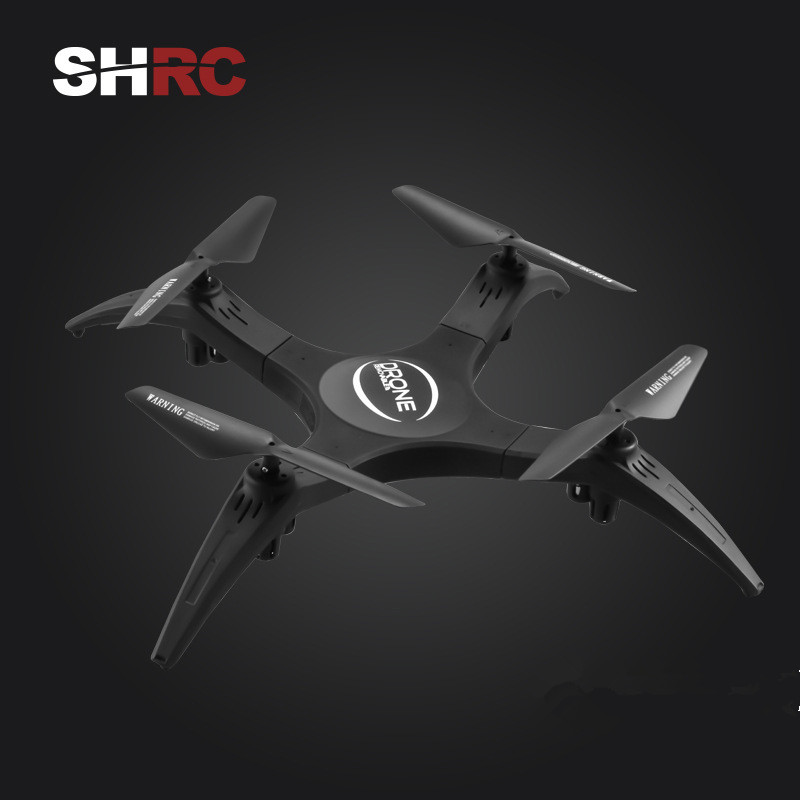 SHRC SH2 Wifi FPV 2MP Foldable Selfie drones with camera hd Altitude Hold dron RC Quadcopter Drones RC Helicopter mini drone mini q39w drone rc quadcopter helicopter drones dron with wifi fpv 720p hd headless mode altitude hold aircraft toy for boys