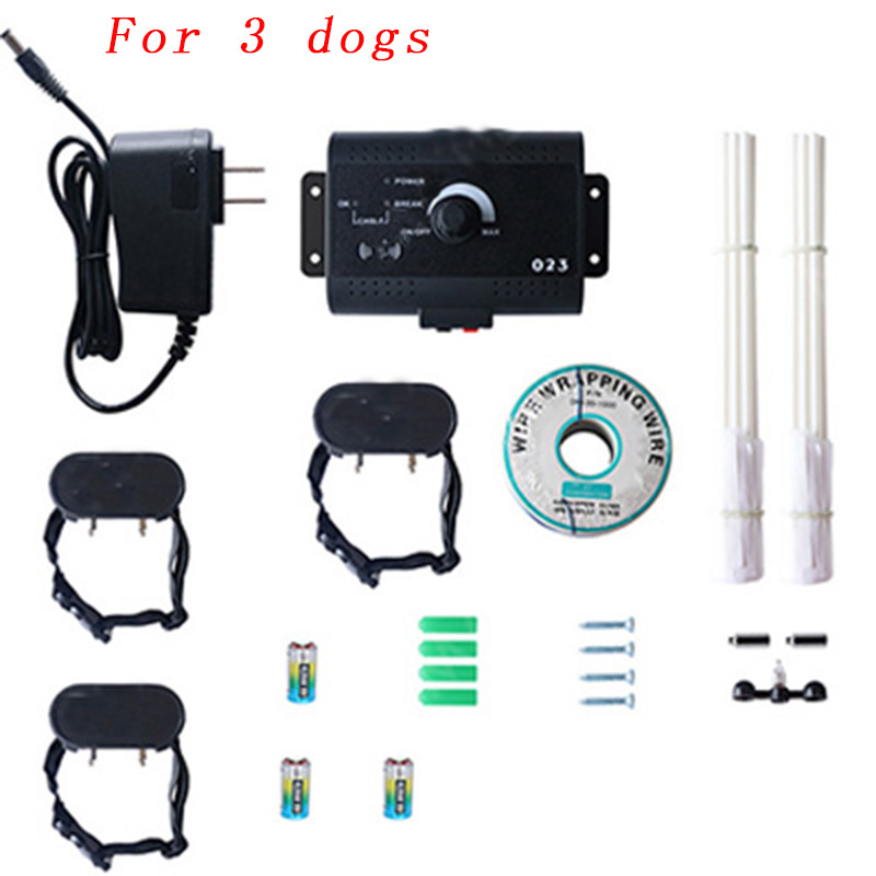 023 Safety Pet Dog Electric Fence With Waterproof Dog Electronic Training Collar Invisible Electric Dog Fence Containment System12