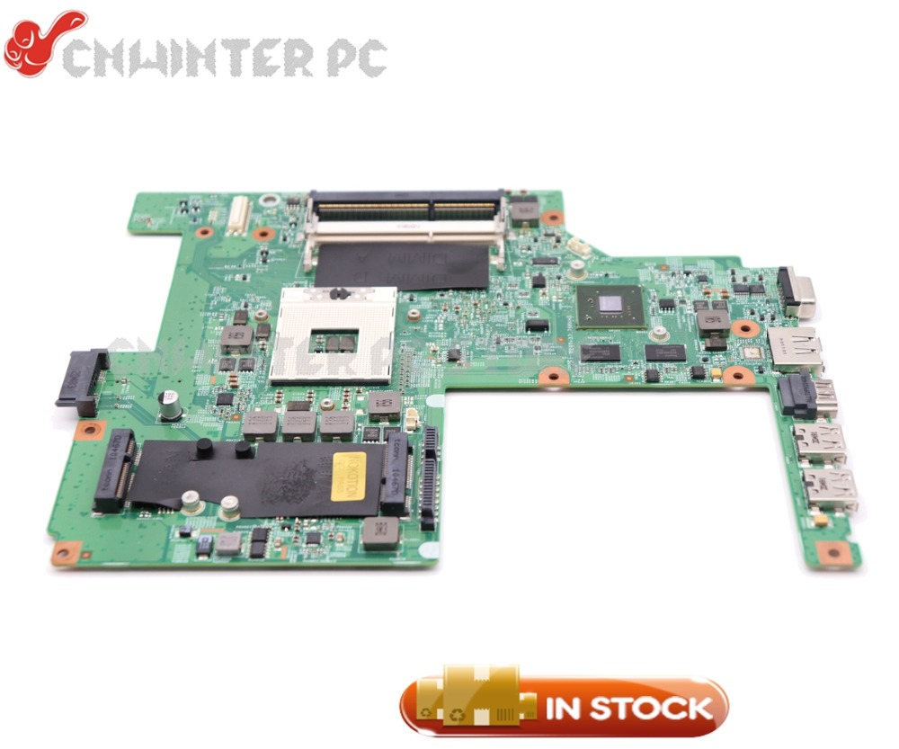 цена NOKOTION W79X4 0W79X4 CN-0W79X4 For Dell Vostro 3500 V3500 Laptop Motherboard HM57 DDR3 GT310M Video Card Free cpu
