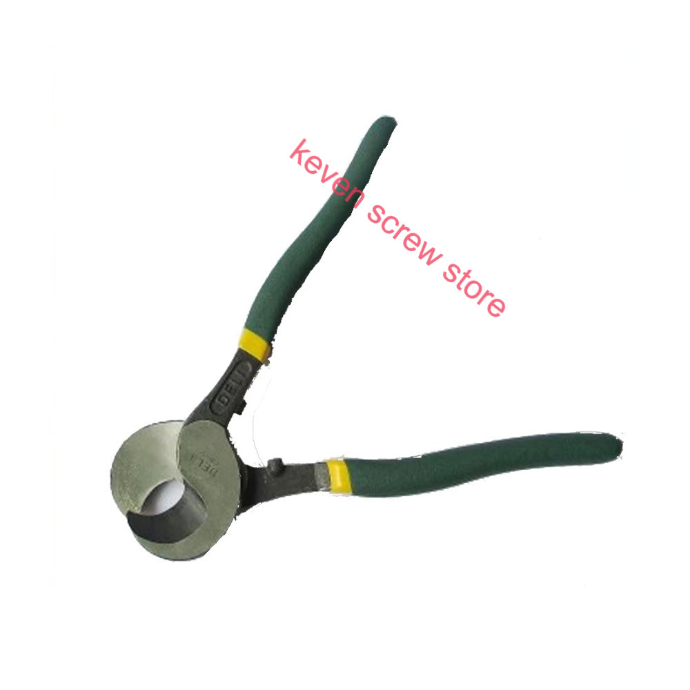 high quality  Effective tool DL20138 10 inch  cable cutter wire cutting pliers bolt cutters Cable scissors  цены