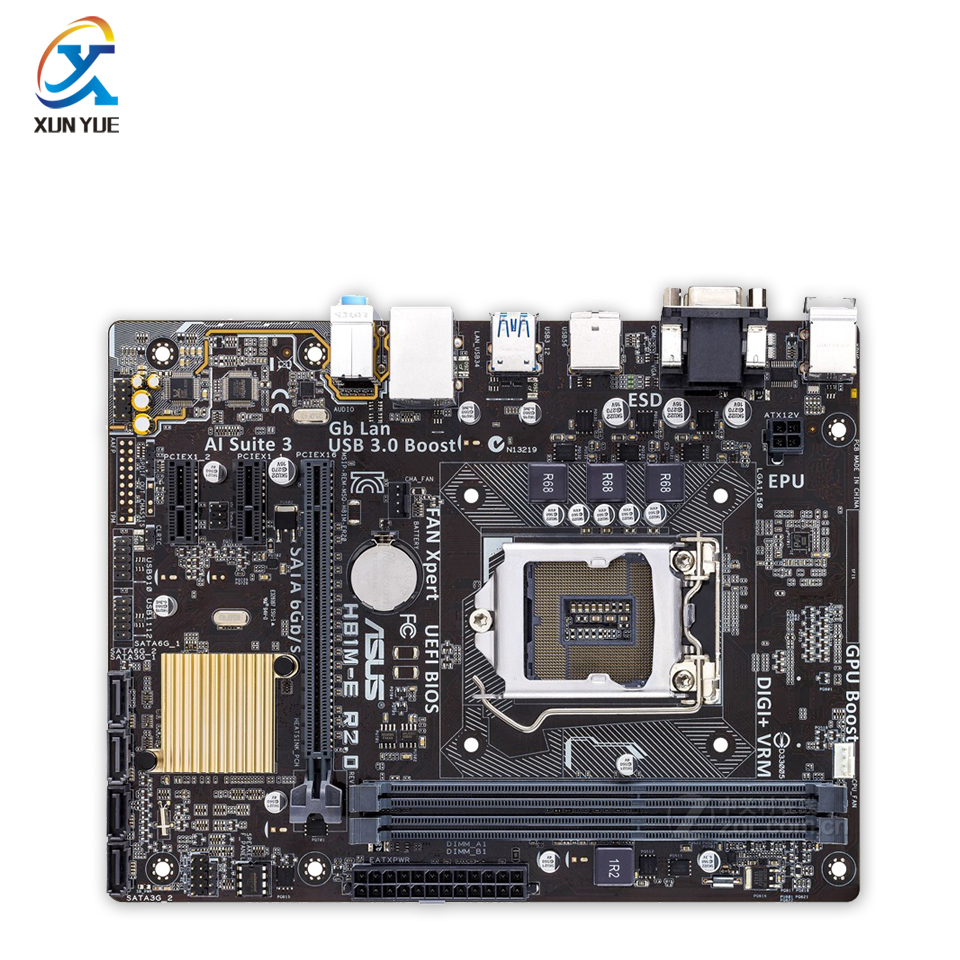 New asus h81m k motherboard cpu i3 i5 i7 lga1150 intel h81 ddr3 sata3 - H81m E R2 0 Original New Desktop Motherboard Intel H81 Socket Lga 1150 I7