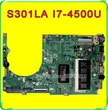 Original S301L S301LA motherboard For Asus S301LA REV2.0 Mainboard I7-4500 Processor HD Graphics 4400 100% Tested