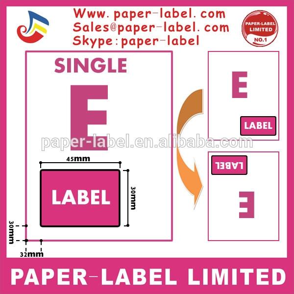 5000x Pcs Integrated Labels, Label Size :45mm X 30mm