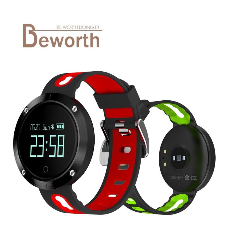 DM58 Smart Band սրտի մակարդակը Արյան ճնշման ձեռնաշղթա IP68 Անջրանցիկ ֆիթնես Ձեռքի սպորտային ժամացույց T1 համար IOS Android- ի համար