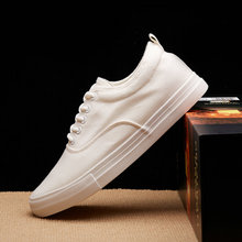 Basket Femme 2019 Fashion Mens White Sneakers Casual Shoes Man Flats Breathable Vulcanized Outdoor Canvas