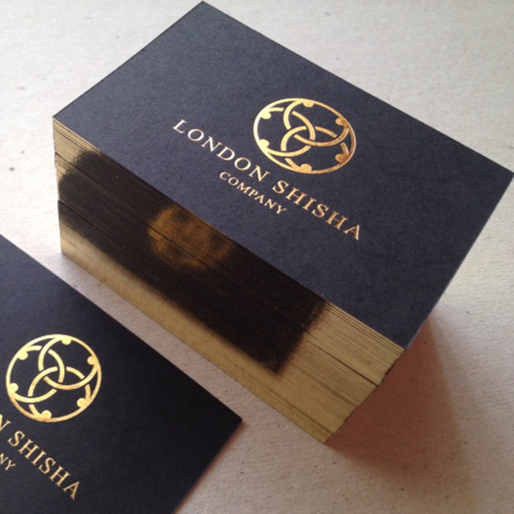 business cards gold foil stamping cards custom of high grade high quality business card black gold foil card in business cards from office school supplies - Quality Business Cards