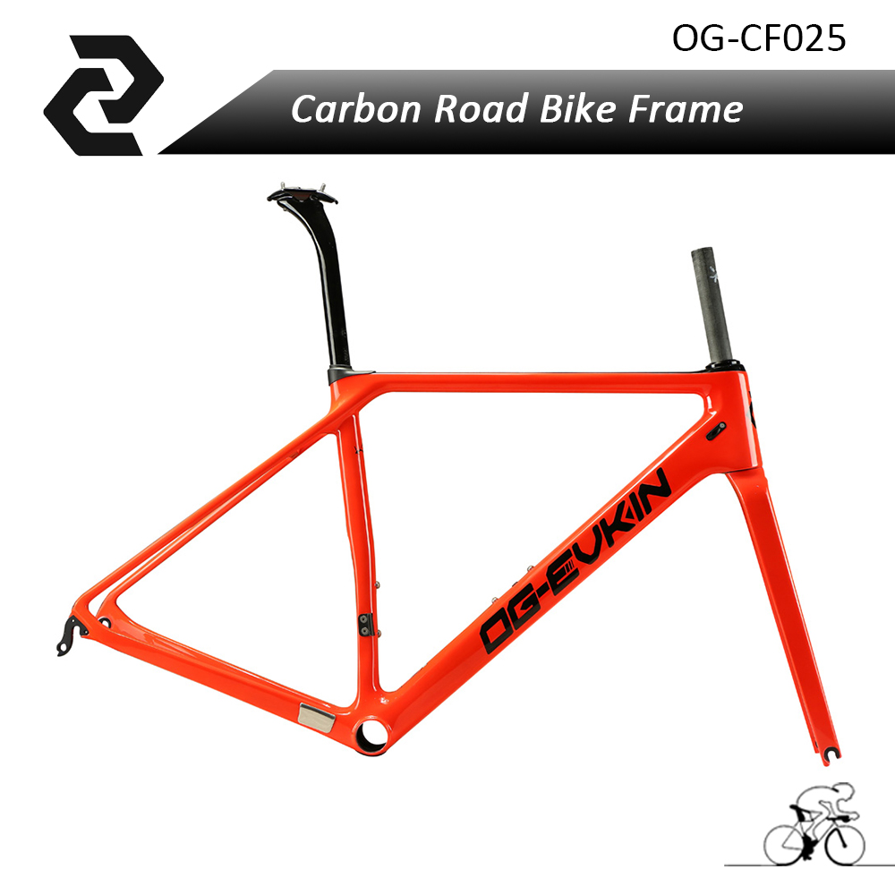2017 OG-EVKIN red painting full carbon fiber road bike frame light weight BB86 Clear coating тени для век essence my must haves eyeshadow 07 цвет 07 mauvie time variant hex name 925238
