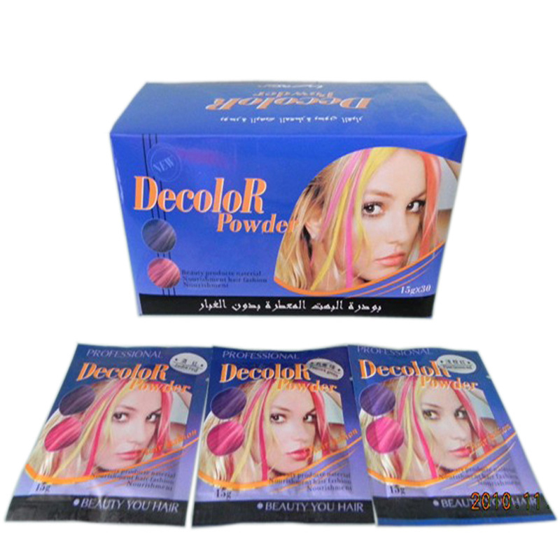 Vikada Bleaching Hair Dye Color Bleaching Powder Hair Gradient Hair Cream Faded Powder Highlight Dyeing Powder