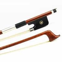 Hohe Qualität 4/4 Größe Fest Carbon Fiber Cello Bogen Pernambuco Haut Gute Leistung Starke Ebenholz Frosch Cello Teile Zubehör