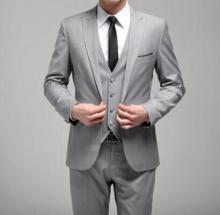 Light grey 3 piece suit online shopping-the world largest light