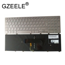 GZEELE Backlit Keyboard For DELL Inspiron 7746 7737 9Z.NAVBW.00S NSK-LH0BW 0S Spain SP цена и фото