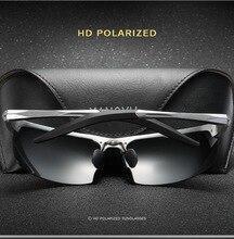 2019 Neue Sonnenbrille Polarisierte Objektiv UV400 Aluminium Rahmen Schutzbrillen Für Männer Fahrer Sonnenbrille Oculos Gafas De Sol Außen