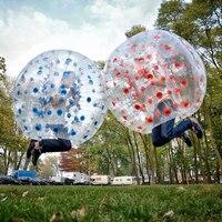 Надувной бамперный мяч из ПВХ шар Зорб мяч Зорб пузырь футбол для парка вечерние пляж гриль для пикника Открытый дети игрушка для детей и вз