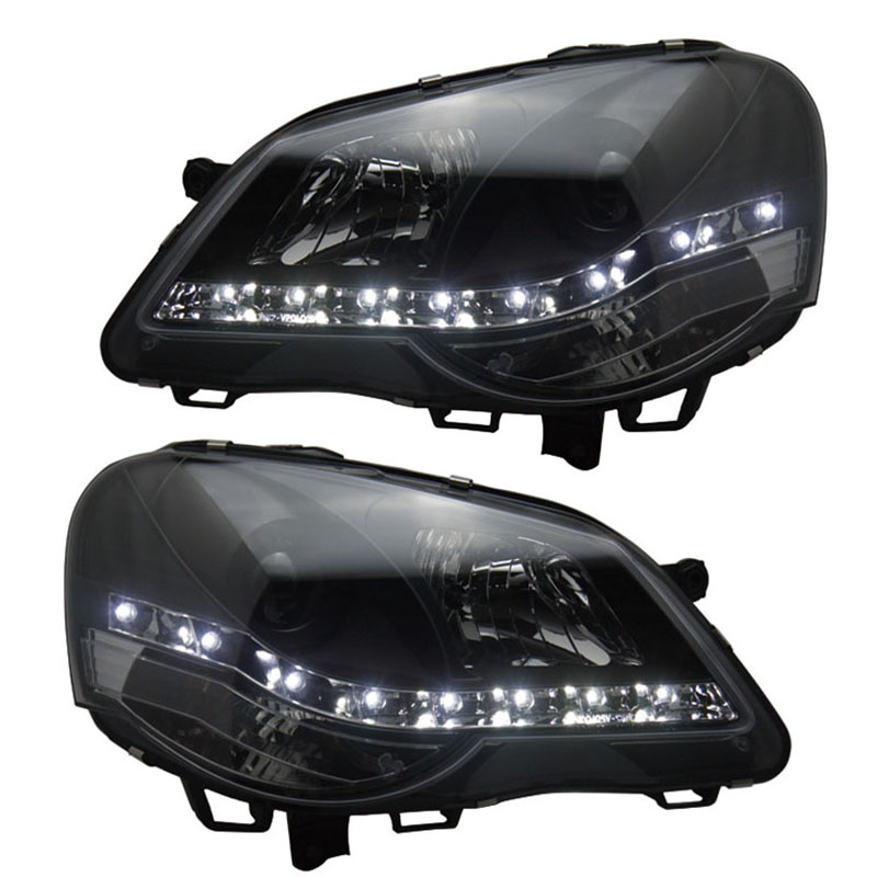 for VW Volkswagen POLO Car lights Headlight Assembly fit for 2006-2011 year models шины good year 195 55r15 85v nct5 polo