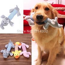 Dog Plush Squeaky Pig, Elephant & Duck Toys
