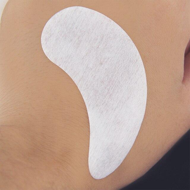 200 pairs Paper Patches Eyelash Under Eye Pads Lash Eyelash Extension Pillow Stickers Lint Free Tips Sticker Wraps Make Up Tools 4