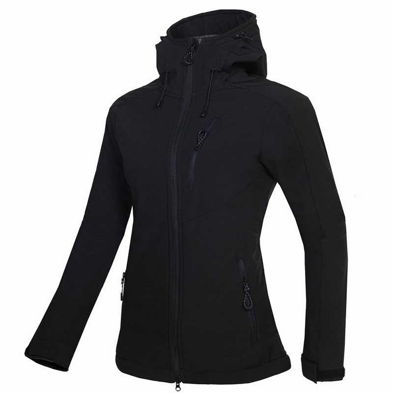 2019 Female Camping&Hiking Soft shell Waterproof Windproof Keep Warm Coats Winter Outdoor Fleece Skiing Climbing Fishing Jacket-in Hiking Jackets from Sports & Entertainment    2