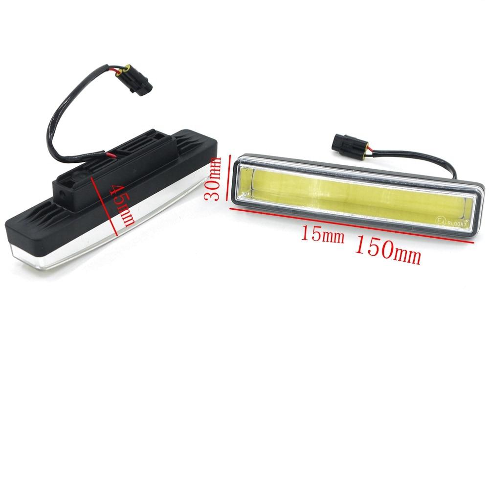 Eonstime 2τμ 15εκ COB LED Οχήματα Φώτα ημέρας - Φώτα αυτοκινήτων - Φωτογραφία 5
