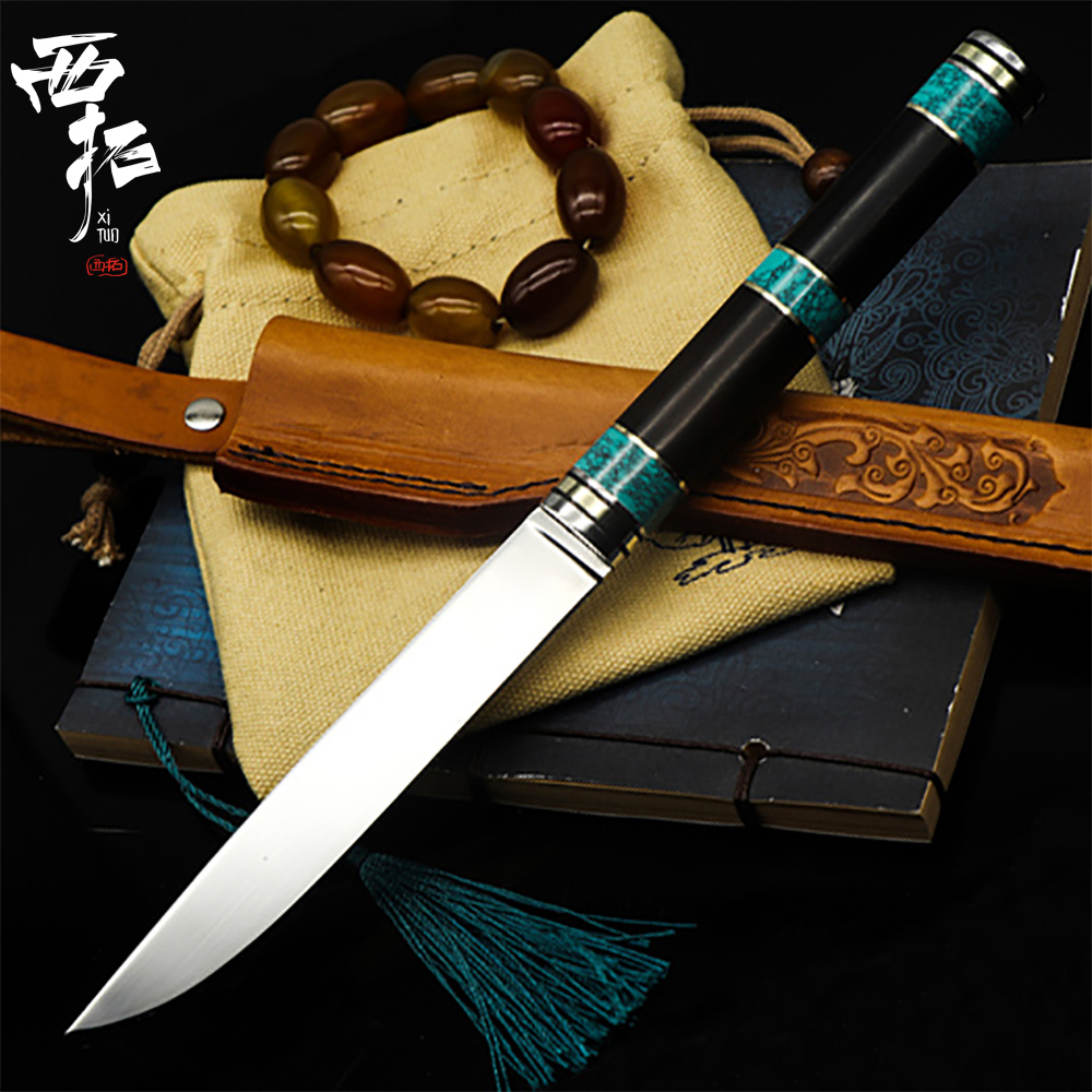 XITUO Kitchen Chef Knife High Hardness VG10 Steel Sliced Meat Salmon Paring Knife Outdoor Camping Cooking Knife Samurai Sword