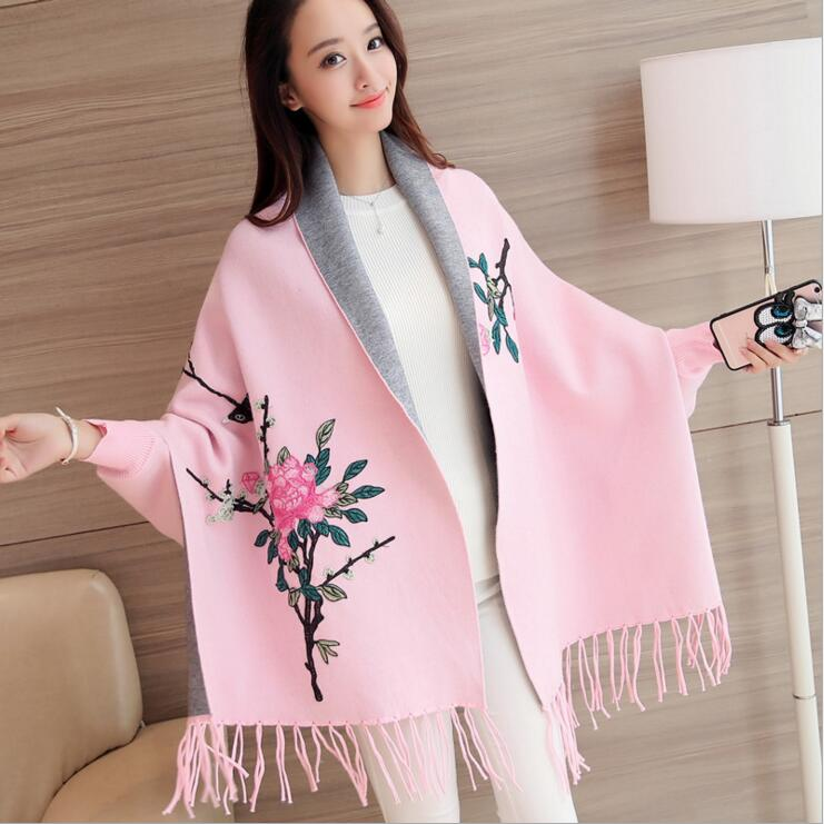 Women's Sweaters For Winter 2019 Female Cardigan Leisure Long Sleeve Slim Thin Out Jacket  Long Section Tops