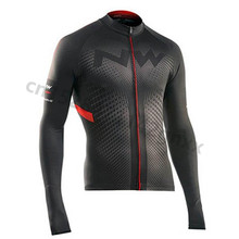 цена на NW 2019 Spring Classic Long Sleeve Pro Cycling Jersey Autumn Maillot Ropa Ciclismo Quick Dry Mens MTB Bike team Cycling Clothing