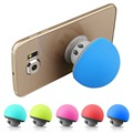 New Amplified Sound Quality Mini Mushroom Suction Cup Phone Holder Bluetooth Speaker Free Shipping