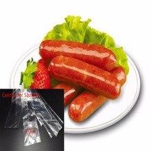 5 шт. Еда Класс корпуса для сосиски, салями Длина: 50 см Wide50mm оболочка для алюминиевые штранг-прессования машина для хот-догов Пластик корпус несъедобное