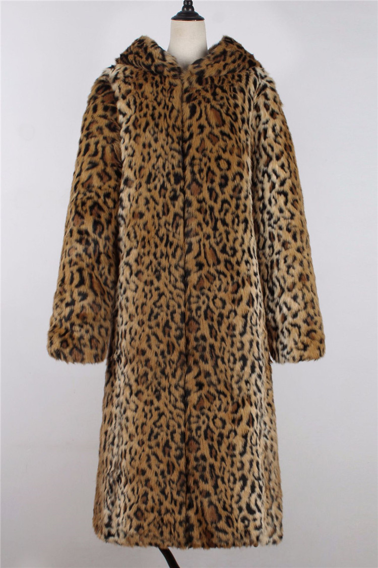 2018 fashion European and American women\`s fashion leopard long coat female fashion women\`s hooded coat (9)