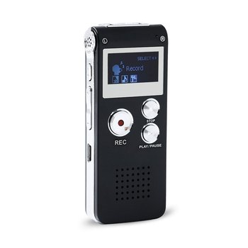 Neue Ankunft 8 GB Mini USB Voice Recorder Flash Digital Audio Voice Recorder 650Hr Diktiergerät 3D Stereo MP3 Player