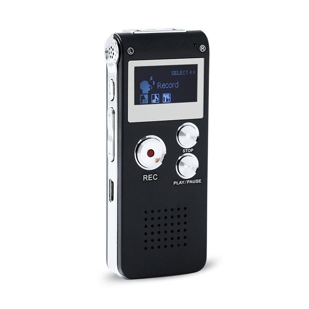 Qzt Mini Digital Voice Recorder Professional Diktiergerät Usb-stick Mp3 Musik Player 3 In 1 Speicher Lagerung Grabador De Voz Digital Voice Recorder