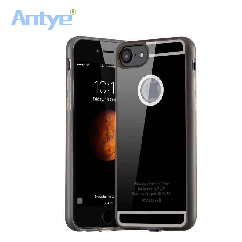 Advertising Antye Qi Wireless Charger Touching Pad With 7 Led For Iphone 7/7 Plus+qi Receiver Case