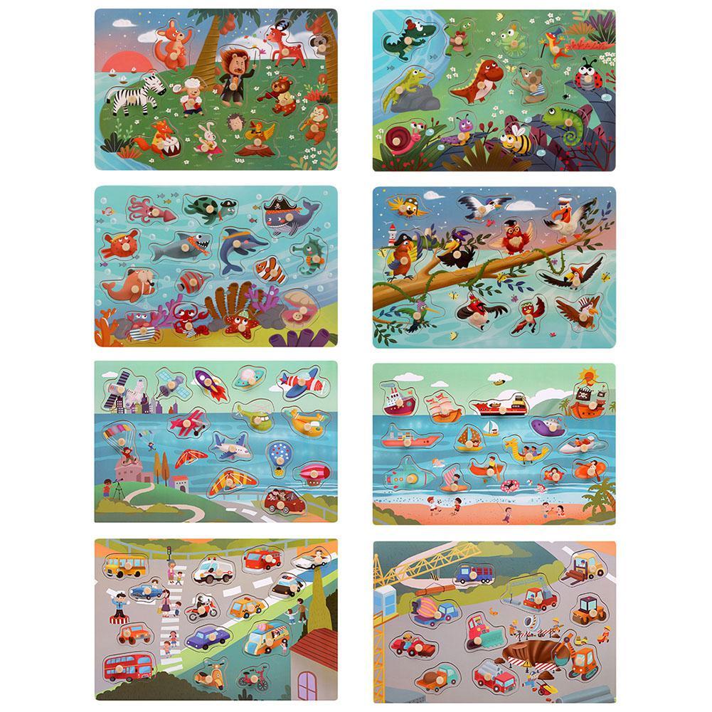 LeadingStar интеллекта детей несколько фигур познать игрушка соответствующие Панель головоломки игрушка в подарок