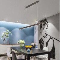 L Nordic ресторан люстра творческий индивидуальный светильник Дерево Искусство твердая древесина офисные светодиодный полосы света японский