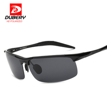 DUBERY Polarized Sunglasses Men's Aviation Driver Male Night Vision Sun Glasses For Men 2017 Luxury Brand Designer Oculos