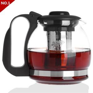 Chip Tea Cup High temperature glass stainless steel filter tea teapot tea pot Kung Fu tea sets coffee pot