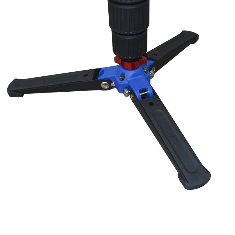 Benro VT2 3 Leg Locking Base Accessory For Monopod Fits Monopod with Removeable Supporting Stand 3/8 Threaded Foot