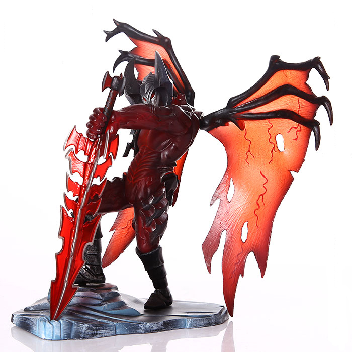 LOL Cosplay The Darkin Blade Classic Aatrox 19cm/7.5'' Boxed Hi-Q PVC Action Figures Toys Model Garage Kit vocaloid cosplay hatsune miku q version boxed pvc small gk garage kit action figures model toys 4pcs set