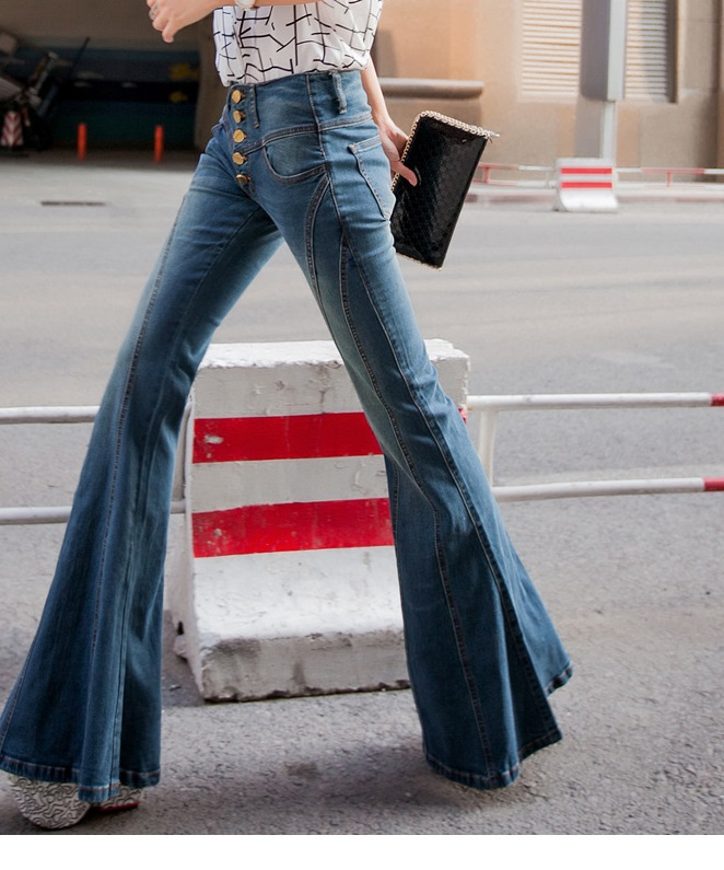 Aliexpress.com : Buy Super new skinny vintage flare jeans womens ...