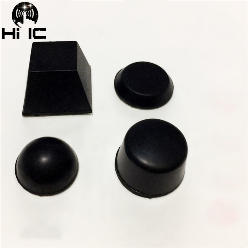 Circuits Latest Collection Of 20pcs Hemisphere Trapezoidal Column 3m Speaker Amplifier Shock Absorber Feet Pad Vibration Rubber Anti-shock Self-adhesive Consumer Electronics