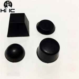 Image 1 - 20pcs Hemisphere Trapezoidal Column 3M Speaker Amplifier Shock Absorber Feet Pad Vibration Rubber Anti shock Self adhesive