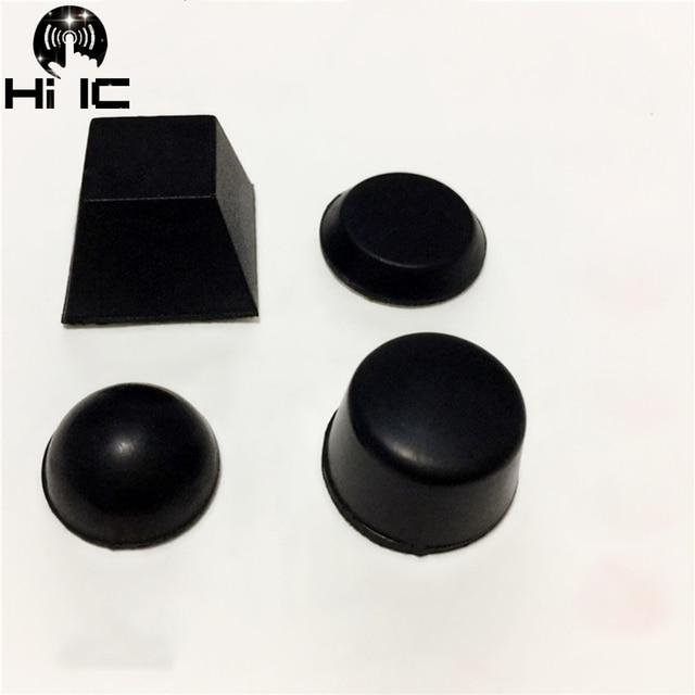 20pcs Hemisphere Trapezoidal Column 3M Speaker Amplifier Shock Absorber Feet Pad Vibration Rubber Anti shock Self adhesive