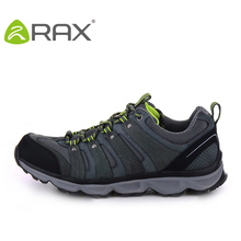 RAX Genuine Leather Hiking Shoes For Men Sports Men Outdoor Walking Trekking Climbing Sneakers Men Sport Sneakers Outdoor Shoes
