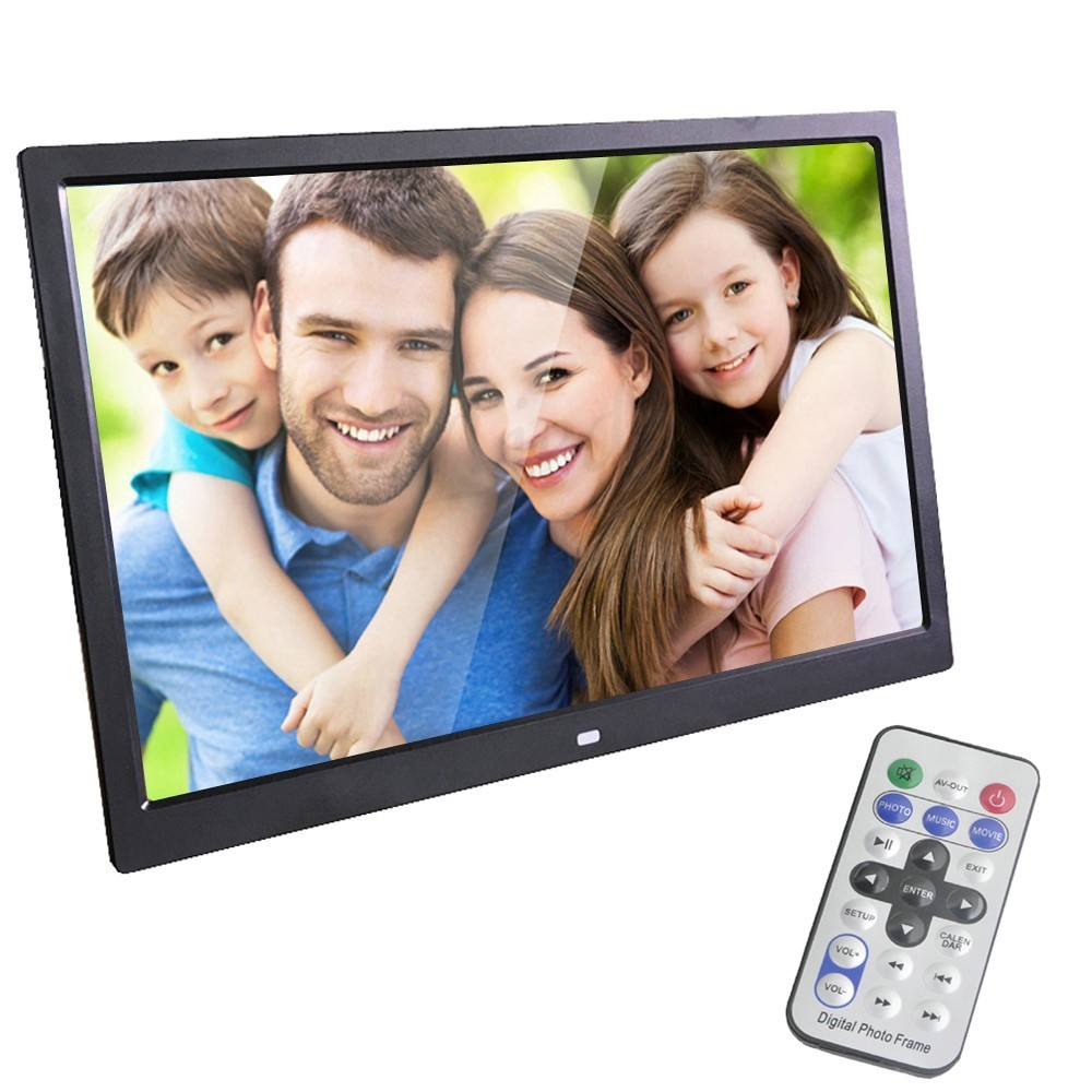 Liedao 15 Inch LED Backlight HD 1280 800 Full Function Digital Photo Frame Electronic Album digitale